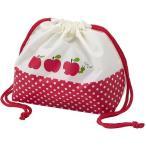 トルネ 4904705160457 P-3062 弁当袋 きんちゃく りんご