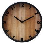 【納期目安:5/末入荷予定】不二貿易 FJ-99276 掛時計 ブランチ Φ22cm BK(99028) EG6919A-LY121【3個セット】 (FJ99276)