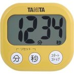 ds-2299938 (まとめ)タニタ でか見えタイマーマンゴー イエロー TD-384MY 1個【×10セット】 (ds2299938)