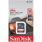 サンディスク SANDISK SDSDUNB-016G-GN3IN SDHCカード 16GB Class10 海外パッケージ (SDSDUNB016GGN3IN)