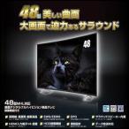 ショッピング液晶テレビ REVOLUTION ZM-03C48TV 48型MHL対応曲面フルハイビジョン液晶テレビ 録画機能付き (ZM03C48TV)