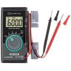 共立電気計器 デジタルマルチメータ(ハードケース付)/カードテスタ 1019R