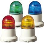 パトライト(PATLITE) 小型LED表示灯 PEW-100AB AC100V Ф82 ブザー(AC200V選択可) パトランプ 点灯、点滅 赤色、黄色  送料無料