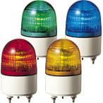 パトライト(PATLITE) 小型LED表示灯 PES-24A AC/DC24V Ф82 パトランプ 点灯、点滅 赤色、黄色