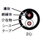 ☆新品☆600V CV 5.5SQx2C ケーブル(電線)☆100m巻☆領収書可能