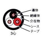 ☆新品☆600V CV 5.5SQx3C ケーブル(電線)☆50m巻☆領収書可能