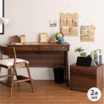 ショッピング学習机 学習机 机 2点セット フリンク 110 デスク+プリンターカート (IS)
