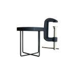 ドリンクホルダー L ホルダー 転倒防止 タンブラー ワインボトル アウトドア キャンプ WEST VILLAGE TOKYO ボトルクランパー(L)