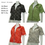 ヒールクリーク Heal Creek レディース フルジップ オーバーシャツ サイズ44