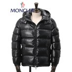 モンクレール MONCLER メンズ ダウンジャケット MAYA マヤ フード着脱 定番人気アウター ジップ 微艶ブラック ブランド