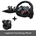 Yahoo!DERESHOP限定セール Logitech G29 Driving Force Feedback Racing Wheel Shifter付き 送料無料 中元ギフト おまけ有り