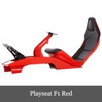 入荷台数限定 Playseat F1 Red プレイシート ホイールスタンド 椅子 セット 送料無料