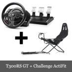 特価セール スラストマスター Thrustmaster T300RS GT Edition + Playseat Challenge 2点セット PS3/PS4/PC 対応 送料無料