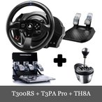 Thrustmaster T300RS + T3PA Pro + TH8A 3点セット スラストマスター レーシング ホイール PS3/PS4/PC 対応 送料無料