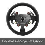 Yahoo!DERESHOP限定セール スラストマスター Thrustmaster Rally Wheel Add-On Sparco R383 Mod レーシングホイール PC/PS3/PS4/XOne 対応