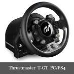 Yahoo!DERESHOP限定セール スラストマスター Thrustmaster T-GT Racing Wheel レーシング ホイール PC/PS4 対応 送料無料