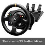 スラストマスター Thrustmaster TX Racing Wheel Leather Edition レーシング ホイール 輸入版 Xbox One/PC 対応 送料無料