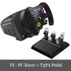 特価セール Thrustmaster TS-PC Racer Racing Wheel + T3PA Pedal スラストマスター レーシング ホイール PC 対応 送料無料