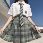 超人気スクールスカート高品質  正統派 制服 女子高生 通学 学生服 中学  チェック プリーツスカートアジャスター付 S〜XL