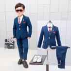 キッズ 男の子 スーツ フォーマル 子供服 カジュアルスーツ 韓国風  結婚式 入学式 卒業式 入園式 卒園式 入学祝い パーティー