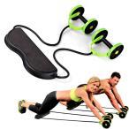 多機能 腹筋ローラー エクササイズローラー 腹筋 筋トレ 腹筋トレーニング ローラー 筋肉 肩 腕 トレーニング エクササイズ 全身 ダイエット 器具