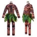モアナと伝説の海  マウイ コスプレ衣装 ハロウィン仮装 コスチューム