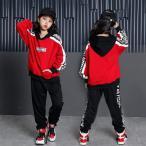 2点セット子供 ダンス 衣装 ヒップホップ ダンストップス HIPHOP キッズダンス衣装 セットアップ ステージ衣装 ジャズダンス ウエア 衣装  スポーツウェアxhf51
