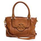 TORY BURCH トリーバーチ ハンドバッグ 7923 02248 amanda mini satchel royal tan アマンダ ミニサッチェル 2WAY ショルダーバ...