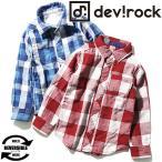 ショッピング子供服 子供服 シャツ DILASH Wガーゼ長袖チェックシャツ リバーシブル ネルシャツ 羽織り セール M1-2