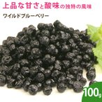 ワイルドブルーベリー 100g ドライフルーツ 乾燥フルーツ