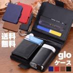 グローケース gloケース 多機能 薄型 手帳型 glo グロー ケース カバー カード入れ グロー(glo)おしゃれ PUレザー 合成皮革 加熱式タバコ