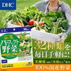 dhc サプリ 野菜 【メーカー直販】 国産パーフェクト野菜 プレミアム 30日分 | サプリメント