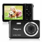 コンパクトデジタルカメラ、Heegomn2.8インチTFTLCD12MP充電式デジタルカメラポータブルカメラポケットカメラ学