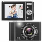 デジタルカメラ デジカメ コンパクト HD 16倍ズーム36MP 1080Pデジタルポイントおよびシュートカメラビデオカメ