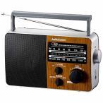 オーム電機 AudioComm AM/FM ポータブルラジオ RAD-F770Z-WK ラジオ