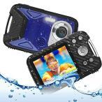 キッズカメラ 子供用 デジタルカメラ 防水 デジカメ 1080P コンパクトカメラ 2.8インチ 子供プレゼント 8倍ズー
