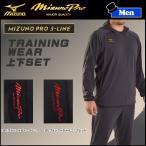 野球 ウェア メンズ 一般 ミズノ MIZUNO PRO ミズノプロ S-LINE トレーニングウェア上下セット【P2】 16aw-mpw