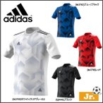 子ども用 サッカーウエア アディダス adidas ジュニア RENGI グラフィックトレーニングジャージー 半袖2 Tシャツ