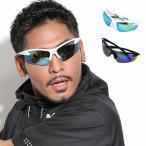 全2色 スポーツ サングラス メンズ 紫外線カット 7JEWELRY サングラス スモーク ブルー イエロー リーボ レンズの画像