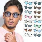人気 メンズ ブランド 7JEWELRY ボストン サングラス フレーム ブラック ブルー レッド グレー レンズ UVカット 紫外線カット