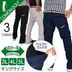 ゴルフウェア パンツ メンズ キングサイズ 3L 4L 5L ストレッチ スリット ゴルフパンツ 大きいサイズ おしゃれ 2020 春夏 サンタリート CGK-190628