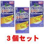 ブルーベリー/サプリメント/ブルーベリールテインプラス 3個セット