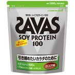 ザバス (SAVAS) ソイプロテイン100 ココア 50食分 1050g