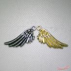 天使の翼ゴールド チャームパーツ