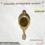 手鏡のゴールド チャーム