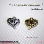 ハートチャーム 2colors IVY Heart アクセサリーパーツ