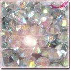 ラインストーン 高分子結晶レジンストーン 14面カット 20Color 2mm~5mm