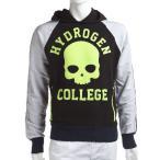 ショッピングハイドロゲン ハイドロゲン HYDROGEN SPORTSWEAR トレーナー 長袖 プルオーバーパーカー スウェット メンズ 144000 ブラック アウトレット HYD大量入荷