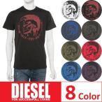 ディーゼル DIESEL Tシャツ 半袖 丸首 T-ULYSSE MAGLI