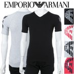 アルマーニ エンポリオアルマーニ Emporio Armani Tシャツアンダーウェア Tシャツ 半袖 Vネック メンズ 111760 8P725